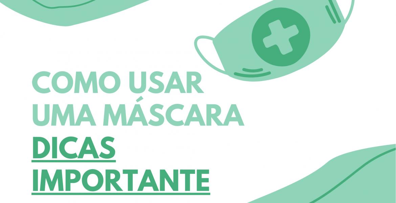 Como usar uma mascara facial